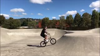 BMX Backflip Gone Wrong - Video