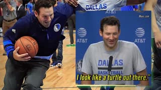 Tony Romo Looks Like a Splash Brother in Shootaround with Dallas Mavericks - Video
