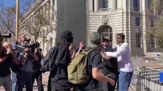 Black man is beat by Antifa during an unprovoked attack in San Francisco