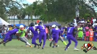 Hardest Youth Football Hit Ever - Video