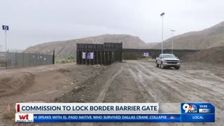 IBWC says wall gate to remain open