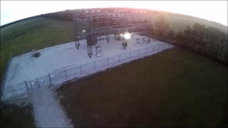 Quick Drone Flight Before Sunset