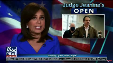"""Judge Jeanine Rules """"creepy corrupt Cuomo"""" sexually harassed his victims with impunity"""
