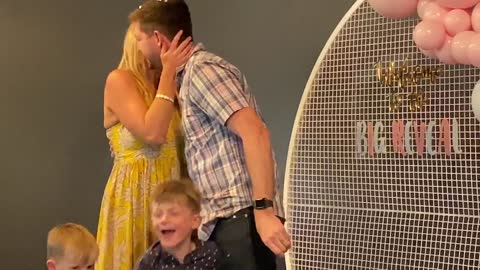Family receives long desired wish during emotional gender reveal