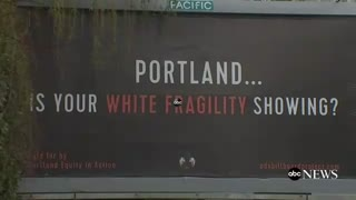 Portland billboards take aim at 'issues of white supremacy and racial inequity' - Video