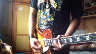 Guns n Roses - Nightrain (Guitar Cover) - Video
