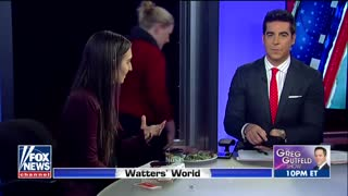 Watters Eats Steak While Debating Meat-Eaters' 'Toxic Masculinity' - Video