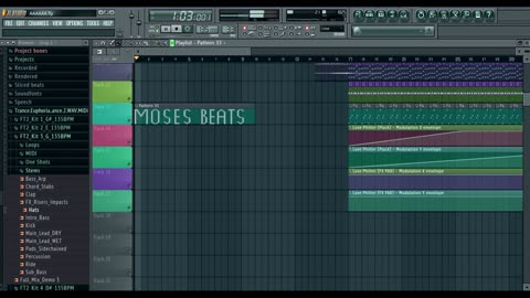 fl studio Moses project
