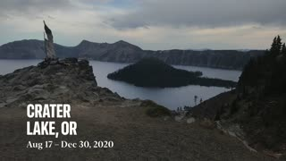 Crater Lake picture collage