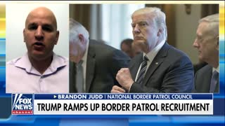 Border Patrol Council Pres Outlines 2018 Plans: Hire 5,000 Agents, Begin Wall Construction - Video