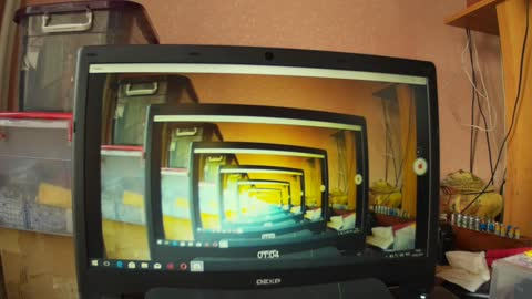 What happens if, the trick with the web camera.