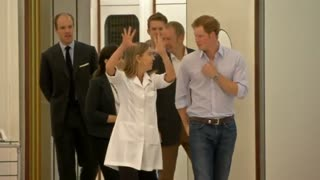 Prince Harry returns to Brazil - Video