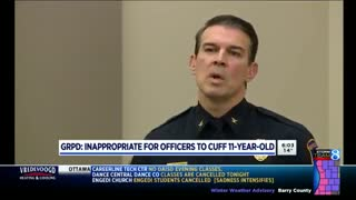 Police 'Nauseated' Watching Footage of Handcuffed 11-Year-Old. Officers  Just Learned Their Fate - Video
