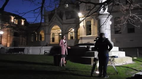 Labour new New Zealand Govt moments after outside parliament