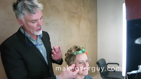 MAKEOVER: My Hair is Worse than my Age! by Christopher Hopkins,The Makeover Guy®