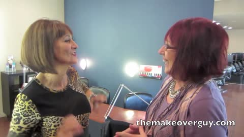 MAKEOVER! Transformation at 60, by Christopher Hopkins, The Makeover Guy
