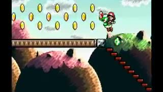 Super Mario 2 Yoshi's Island - Emma Plays - SNES - Video