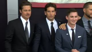 World premiere of Brad Pitt's 'Fury'