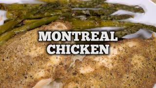 Mouthwatering Montreal chicken recipe