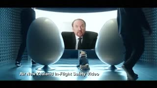 Air New Zealand team up with All Blacks for latest on board safety video - Video