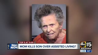 92-year-old woman shoots son over nursing home - Video