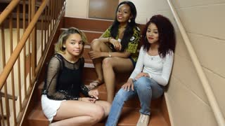 Trio Of Talented Girls Magnificently Cover 'What Is Love' - Video