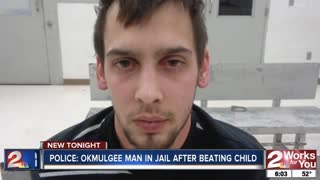 Man accused of beating girlfriend's 5-year-old son after he opened Christmas present early - Video