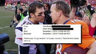 Peyton Manning Talks Sh*t On Tom Brady - Video