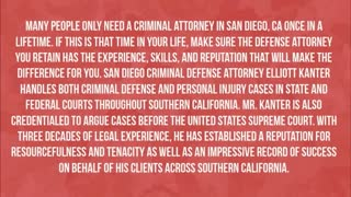 • San Diego DUI lawyer - Video