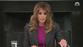 'It Won't Stop Me': Melania Responds to Criticism Over Cyber Bullying Platform - Video