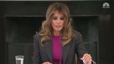 'It Won't Stop Me': Melania Responds to Criticism Over Cyber Bullying Platform
