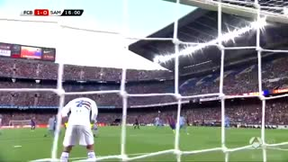 Suarez goal vs Sampdoria and incredible bicycle assist by Leo Messi