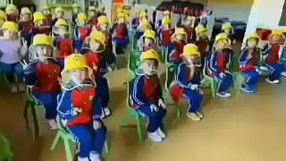 Chinese school during Covid slavery