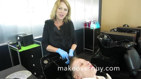MAKEOVER! Transition from Brown to WHITE! by Christopher Hopkins,The Makeover Guy®