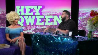 Willam Belli from RuPaul's Drag Race on Hey Qween! with Jonny McGovern - Video