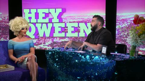 Willam Belli from RuPaul's Drag Race on Hey Qween! with Jonny McGovern