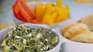 Savory spinach dip recipe - Video