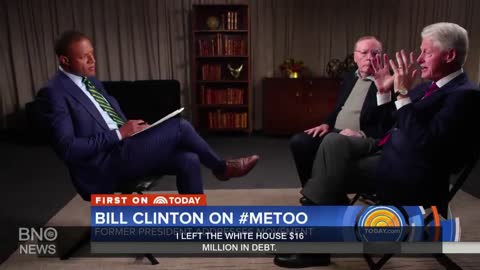 Bill Clinton Defends Handling of Monica Lewinsky Scandal