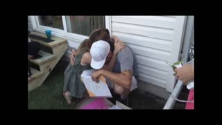 Woman Surprises Father Figure Of 17 Years With Adoption Request - Video