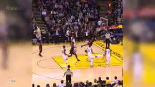 Steph Curry Gets VIOLENTLY Dunked On With RUTHLESS Slam by James Johnson - Video