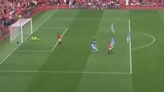 VIDEO: Rashford amazing run & disallowed goal vs Manchester City - Video