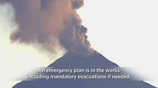 Mexico's Fire Volcano lives up to its name - Video