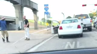 He Just Wanted to Wash Your Windows Man! - Video