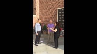 Ravens coach John Harbaugh crashes in on marriage proposal - Video