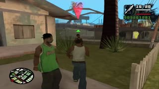 Gta San Andreas 3º mission - Video