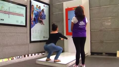 Passengers squat in Mexico for free rides