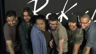 Linkin Park earns spot on RockWalk - Video