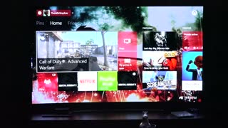 Gaming on the LG 65EG9600 Curved 4K OLED TV - Video