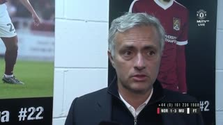 Jose Mourinho speaks to MUTV after tonight's win... - Video