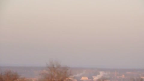 Shelling Of Artemivs'k With Russian Cassette Missiles BM-30 Smerch, Feb 13 2015